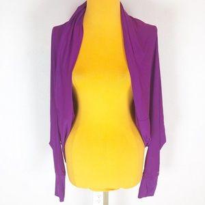 Victoria's Secret VSX Purple Athletic Shrug Jacket